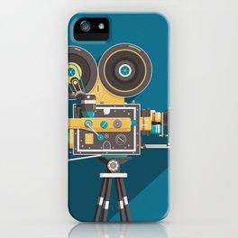 CINE: Blue iPhone Case