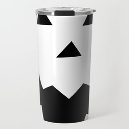 Jack O'Lantern Face Travel Mug