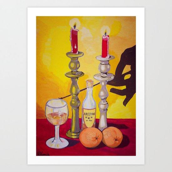 Cognac Art Print