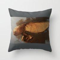 tina fey Throw Pillows featuring Maple Fey  by The Art of Joshua Davis