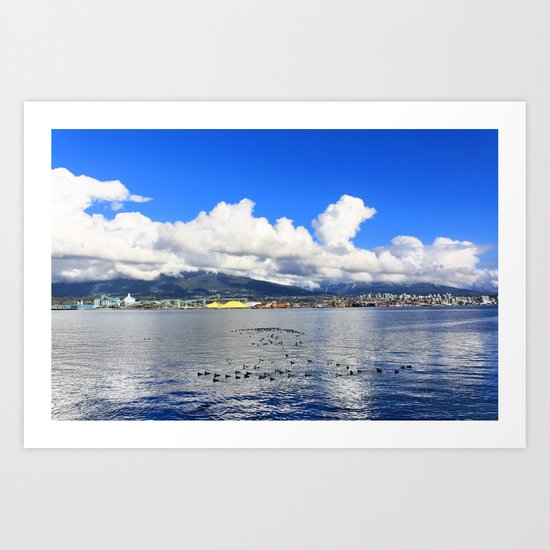 North Vancouver Art Print