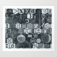 math Art Prints featuring Math Class by Chicca Besso