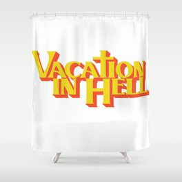 Vacation In Hell Flatbush Zombies Shower Curtain