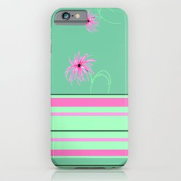 Wish & Stripes iPhone Case