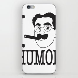 I __ Humor iPhone Skin