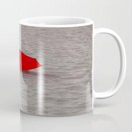 Lost red Umbrella Coffee Mug