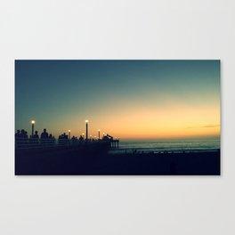 Manhattan Pier Canvas Print