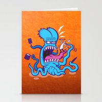cooking Stationery Cards featuring Extreme Cooking by Zoo&co on Society6 Products