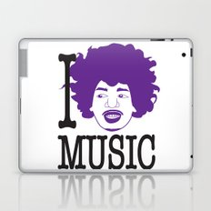 I __ Music Laptop & iPad Skin