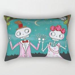 Moonlight Mambo Rectangular Pillow