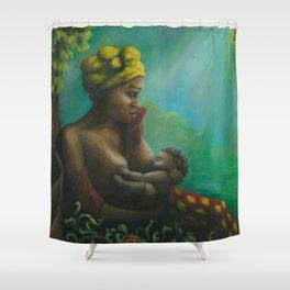 mumma love Shower Curtain