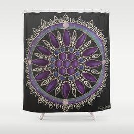 Fuerza Interna Shower Curtain