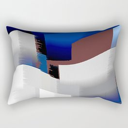 Extrusion V Rectangular Pillow