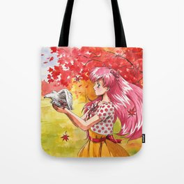 A letter to my Love Wedding Peach Tote Bag
