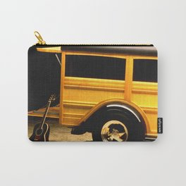 Classic Woody, Surf Boards, and Guitar Carry-All Pouch