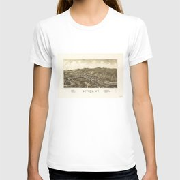 Aerial View of Bethel, Vermont (1886) T-shirt