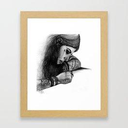 "Kat Von D - ""Make Your Mark"" Framed Art Print"