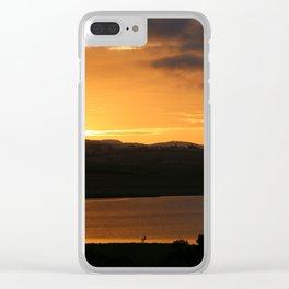 Sunrise - Tamar River - Tasmania - Aus Clear iPhone Case
