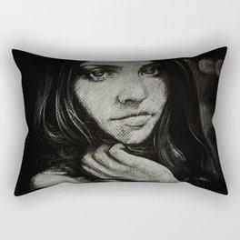 Charcoal experiment #5 Rectangular Pillow