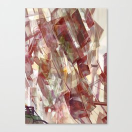 Construction of Light Canvas Print
