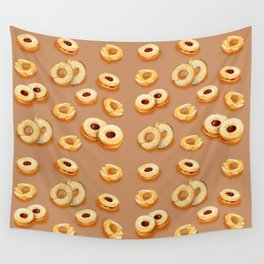 Biscotti-Butterum (pattern) Wall Tapestry