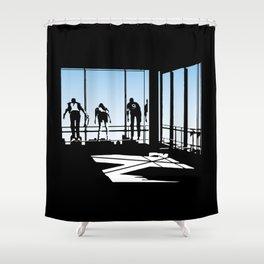 Ferris Bueller and Friends Shower Curtain