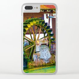 Waterwheel - it turn´s and turn´s Clear iPhone Case