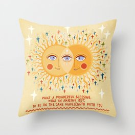 What a wonderful blessing Throw Pillow