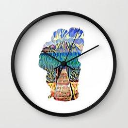 Pier Pleasure Wall Clock