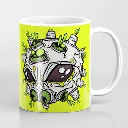 Alien Virus Molecule  Coffee Mug