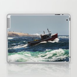 Cresting the Wave Laptop & iPad Skin
