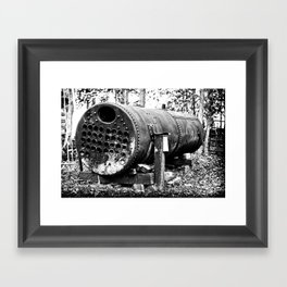 For Steam Framed Art Print