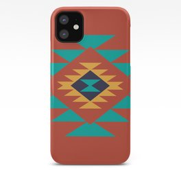 Southwest Indian Tribal Abstract Pattern iPhone Case