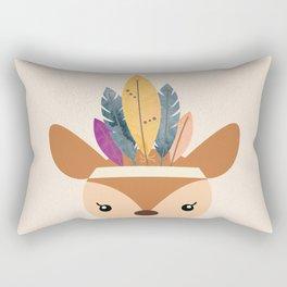 little boho deer Rectangular Pillow