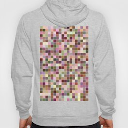 Colorful square mosaic Hoody