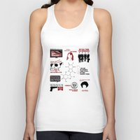 love quotes Tank Tops featuring Fringe Quotes by CLM Design