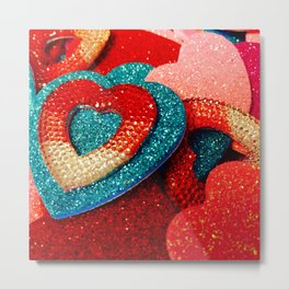 Pick a Heart, Any Heart Metal Print