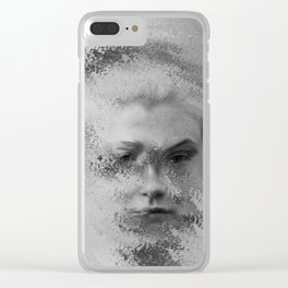 The Unknown selfie Clear iPhone Case