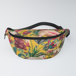 FLORAL AND BIRDS XVIII Fanny Pack