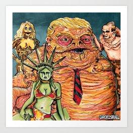 Slug Boss Art Print