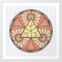 Mandala Abundance Art Print