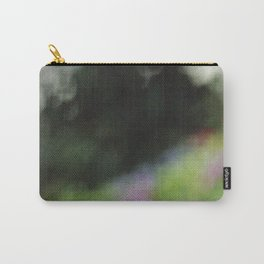 Blurred Nature Carry-All Pouch