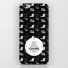 CHAIRS - A tribute to seats (special edition) iPhone Skin