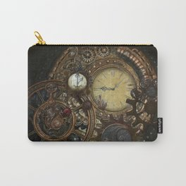 Steampunk Clocks Carry-All Pouch