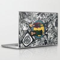 daria Laptop & iPad Skins featuring It's a Sick Sad World Daria by MyOwlHasAntlers
