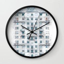 """Nowhere Home"" Wall Clock"