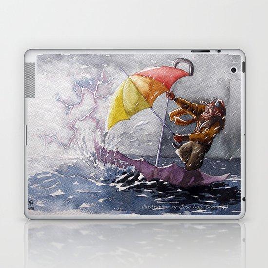 Umbrella Man Laptop & iPad Skin