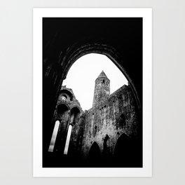 Rock of Cashel Art Print