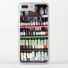 Sake brewery Clear iPhone Case