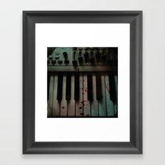 Music.Death.Analog Framed Art Print